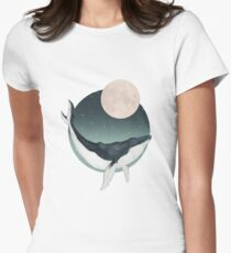 by the light of the moon Fitted T-Shirt
