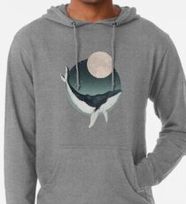 by the light of the moon Lightweight Hoodie