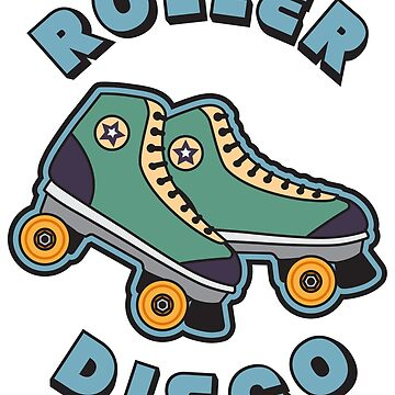Roller Disco - Hipster Retro Vintage Gift by yeoys