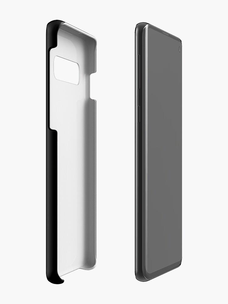 Alternative Ansicht von Oscar Wilde Be Yourself White Hüllen & Klebefolien für Samsung Galaxy