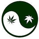 Weed YinYang by EsotericExposal