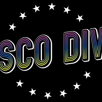 Disco Diva Elegance - Hipster Retro Vintage Gift by yeoys
