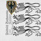 Coat of Arms of Emperor Frederick I Barbarossa by edsimoneit