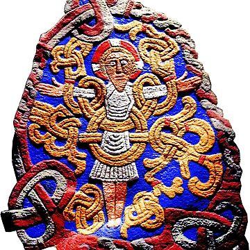 Viking Stone Cross by Bazyartass