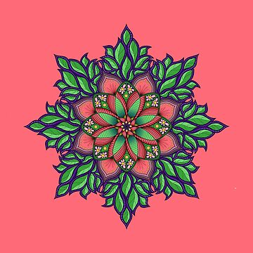 Pink Mandala by anne-darling