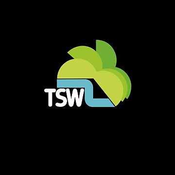 TSW Television South West retro logo  by unloveablesteve