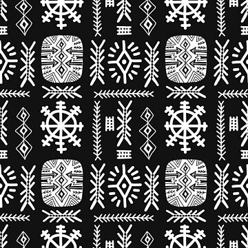 Ethnic pattern by Polanika