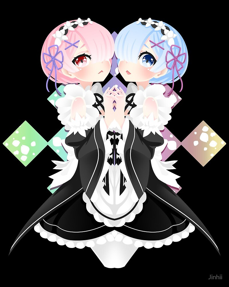 Ram and Rem by Jinhii