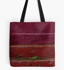 Red steps Tote Bag