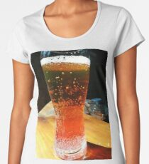 Energy, beer, colors, macro, drink, photography Women's Premium T-Shirt