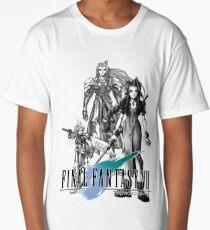 Camiseta larga Arte conceptual de Final Fantasy VII