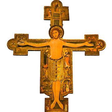 Medieval Style Jesus Christ on Cross by DFLCreative