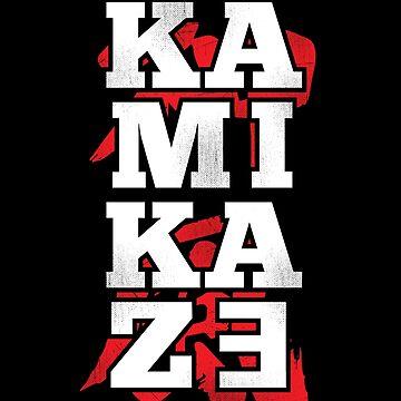 Kamikaze Shirt with Japanese Kanji by japdua