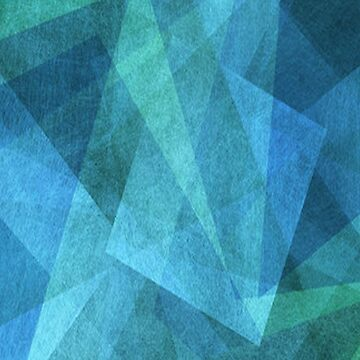 ABSTRACT BLUE by Frogmuse