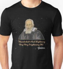 Thunderbolt And Lightning Galileo - Astronomy And Space Gift Unisex T-Shirt