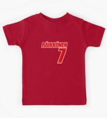 Kimi Raikkonen #7 - RAI7 Kids Tee