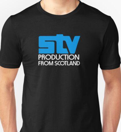 Scottish television STV retro logo T-Shirt