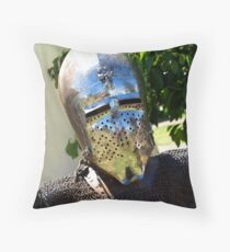 The Helmet Throw Pillow