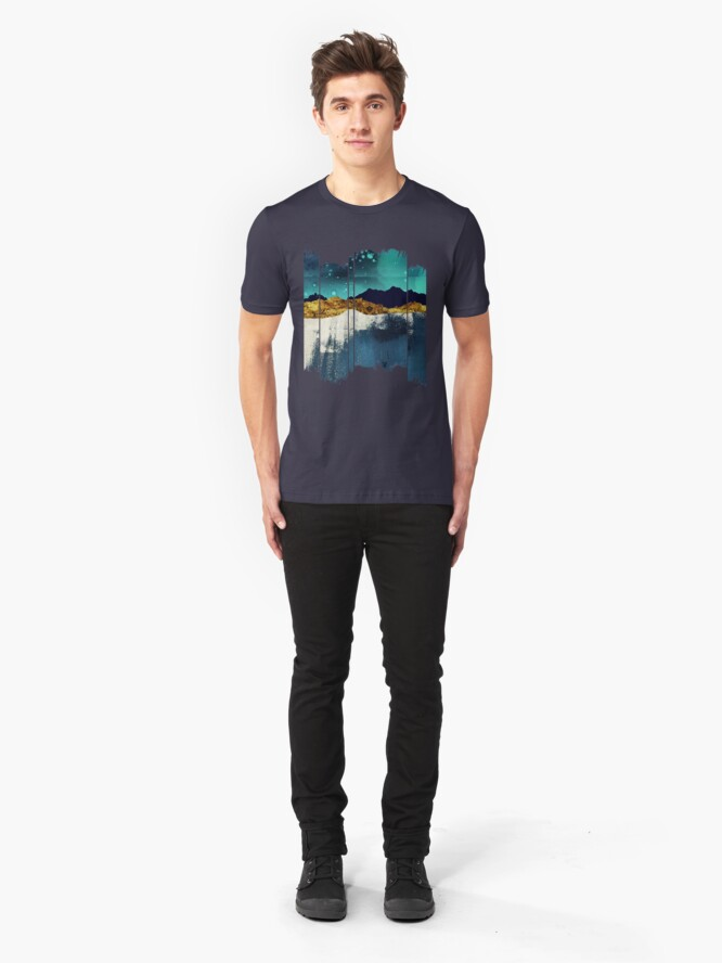 Alternate view of Evening Stars Slim Fit T-Shirt