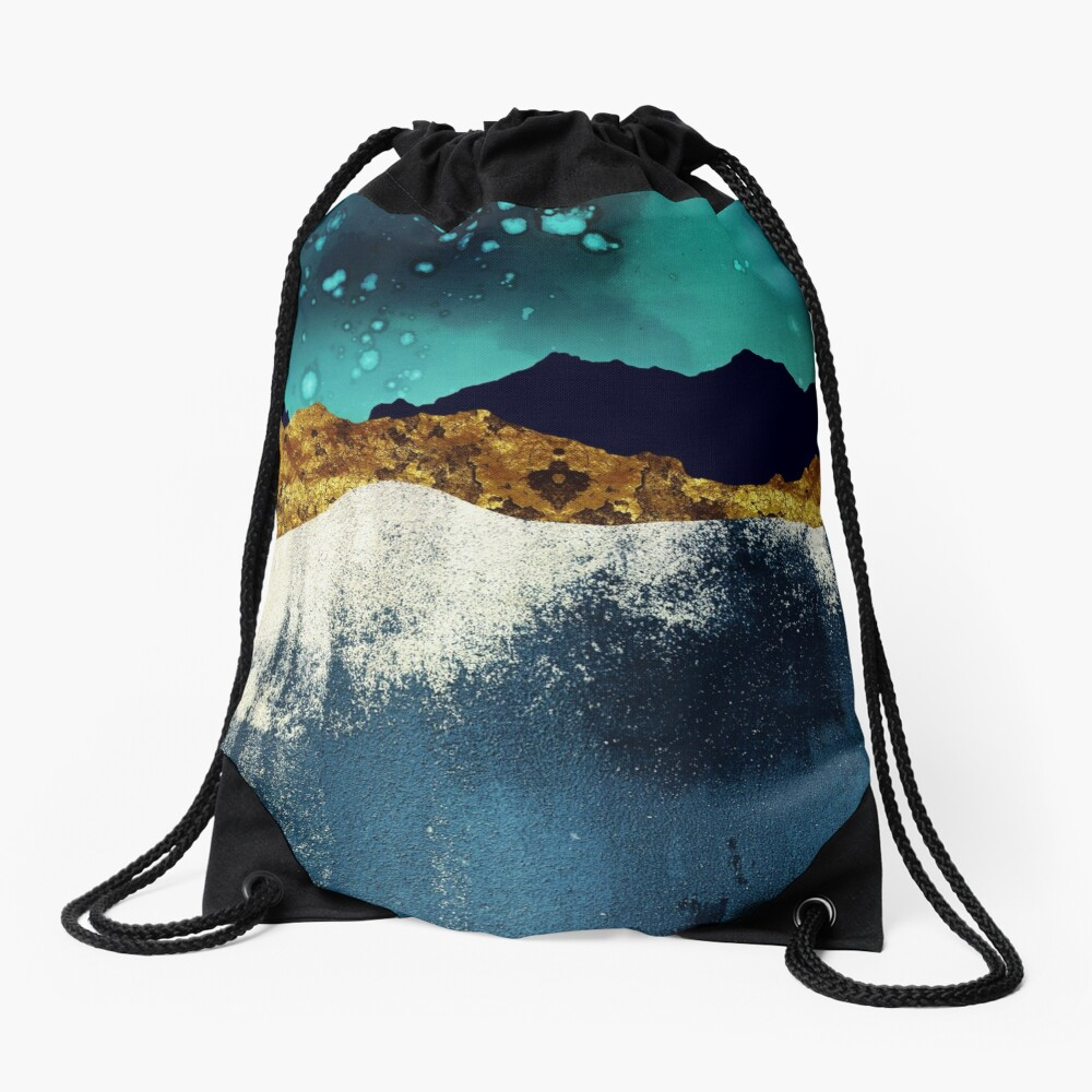 Evening Stars Drawstring Bag