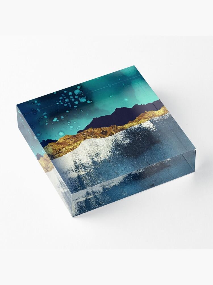 Alternate view of Evening Stars Acrylic Block
