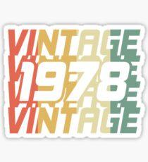 Vintage 1978 Sticker