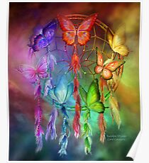 Dream Catcher - Rainbow Dreams Poster