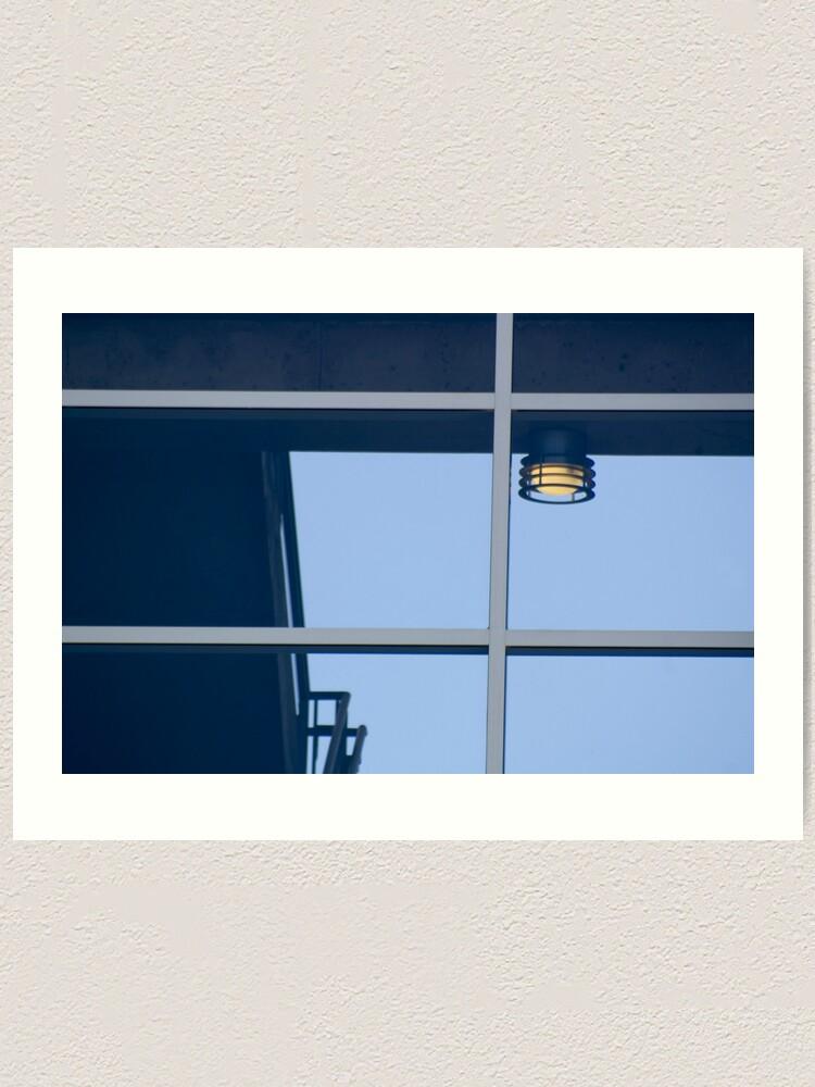 Alternate view of Airport Parking Lights Art Print