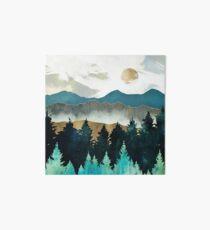 Lámina rígida Niebla del bosque