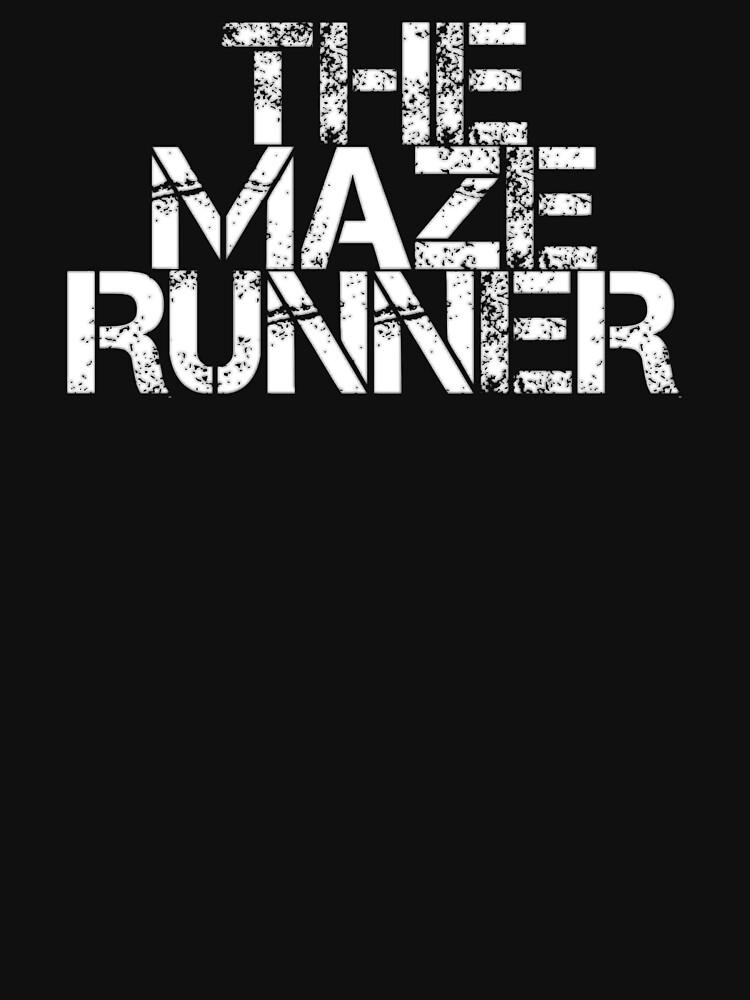 The Maze Runner White Unisex T Shirt Von Fandomtshirtss Redbubble