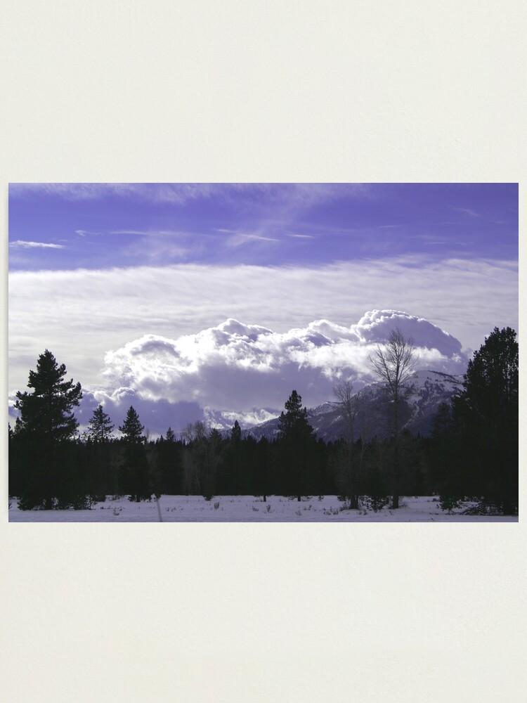 Alternate view of Wyoming Photographic Print