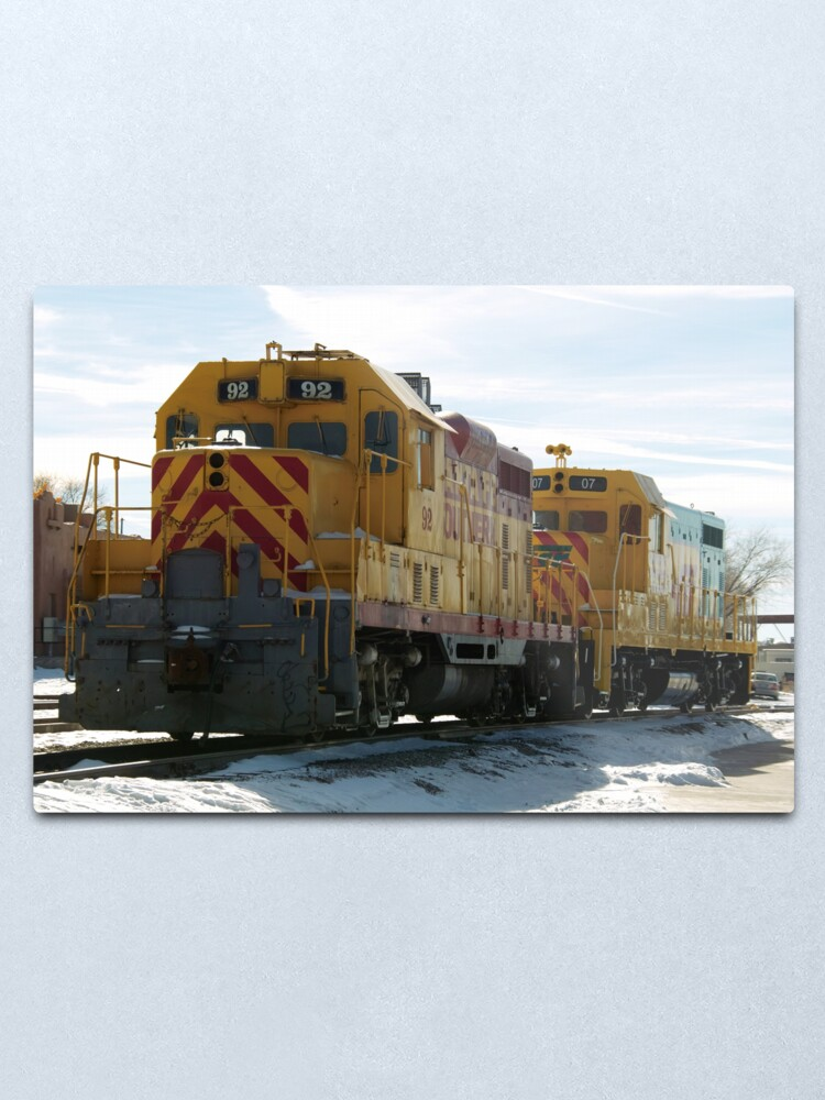 Alternate view of Santa Fe Railroad Metal Print