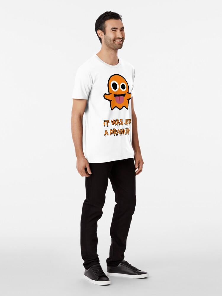 """Alternative Ansicht von Halloween T-Shirt Grafikdesign """"It was just a prank bro"""" Premium T-Shirt"""