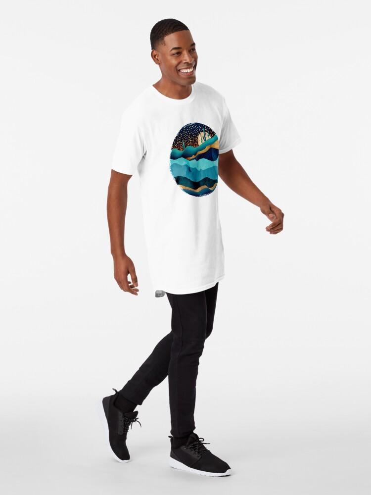 Alternate view of Indigo Desert Night Long T-Shirt