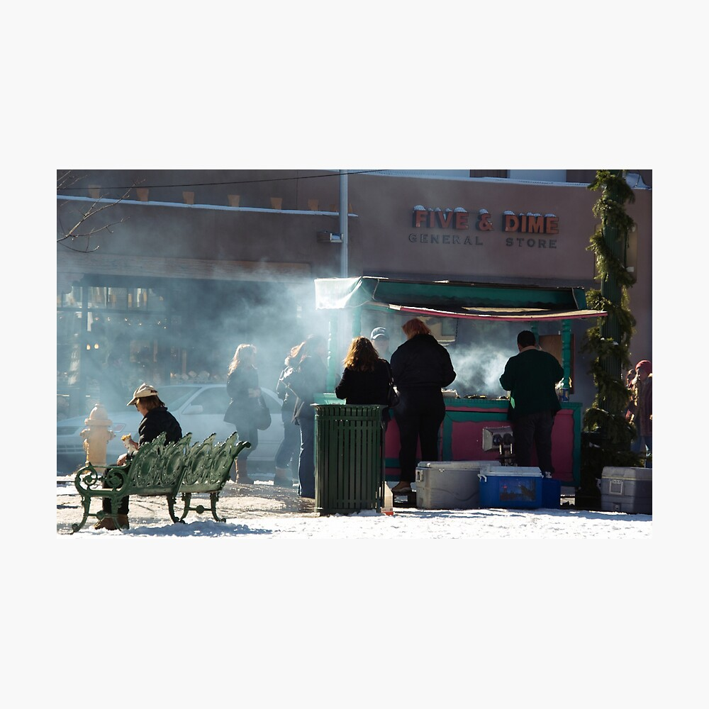 Winter Concessons Photographic Print