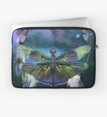 Dream Catcher - Spirit Of The Dragonfly Laptop Sleeve