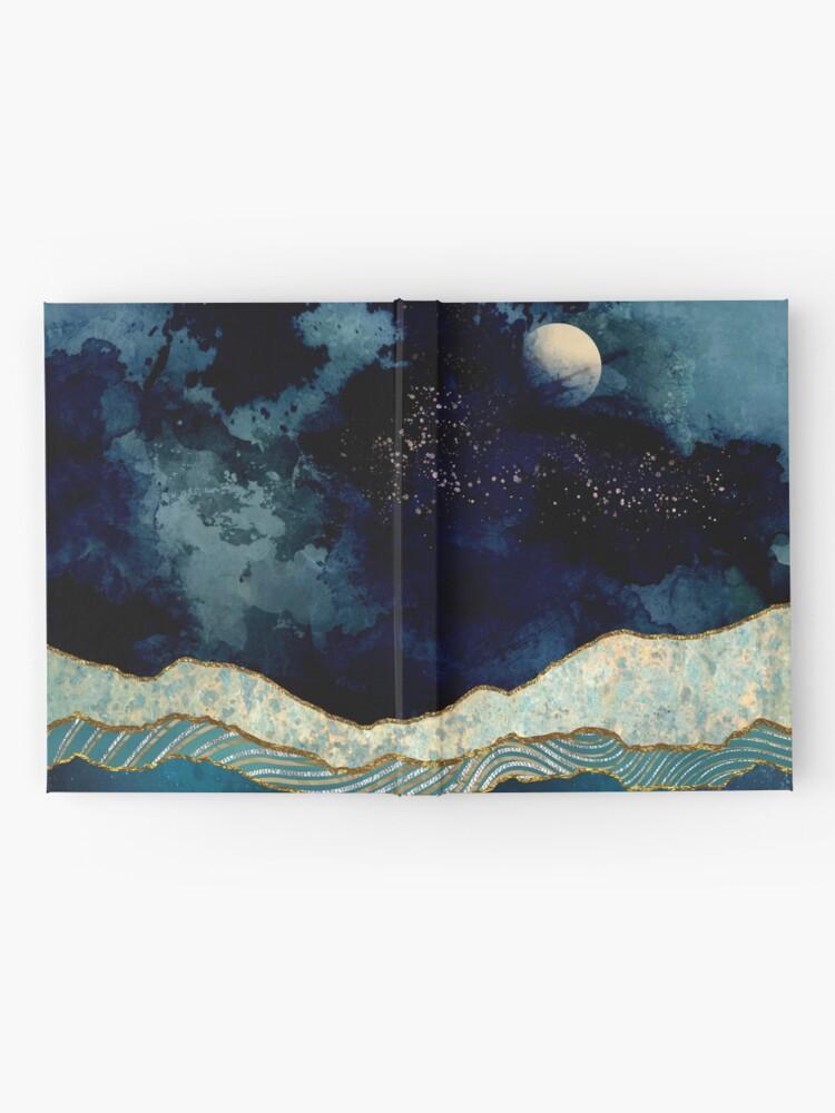 Alternative Ansicht von Indigo-Himmel Notizbuch