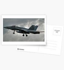 Hornet F18-a Postcards