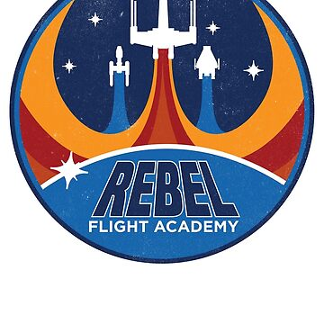 Rebel Flight Academy by JKTees