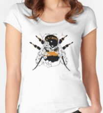 Bumblebee Colour Women's Fitted Scoop T-Shirt