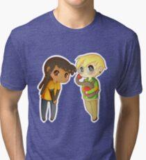 Superhero BFFs Tri-blend T-Shirt