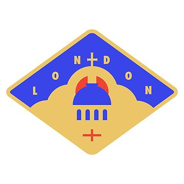 London Badge - Saint Paul's Cathedral by JamesShannon