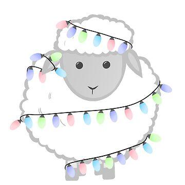 Christmas Sheep by JTBeginning-x