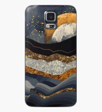 Metallische Berge Hülle & Skin für Samsung Galaxy