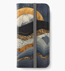 Metallic Mountains iPhone Wallet/Case/Skin