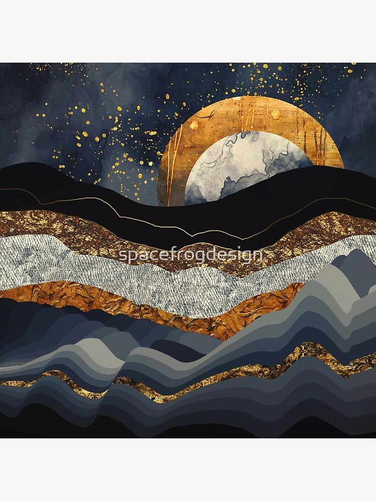 Montañas Metálicas de spacefrogdesign