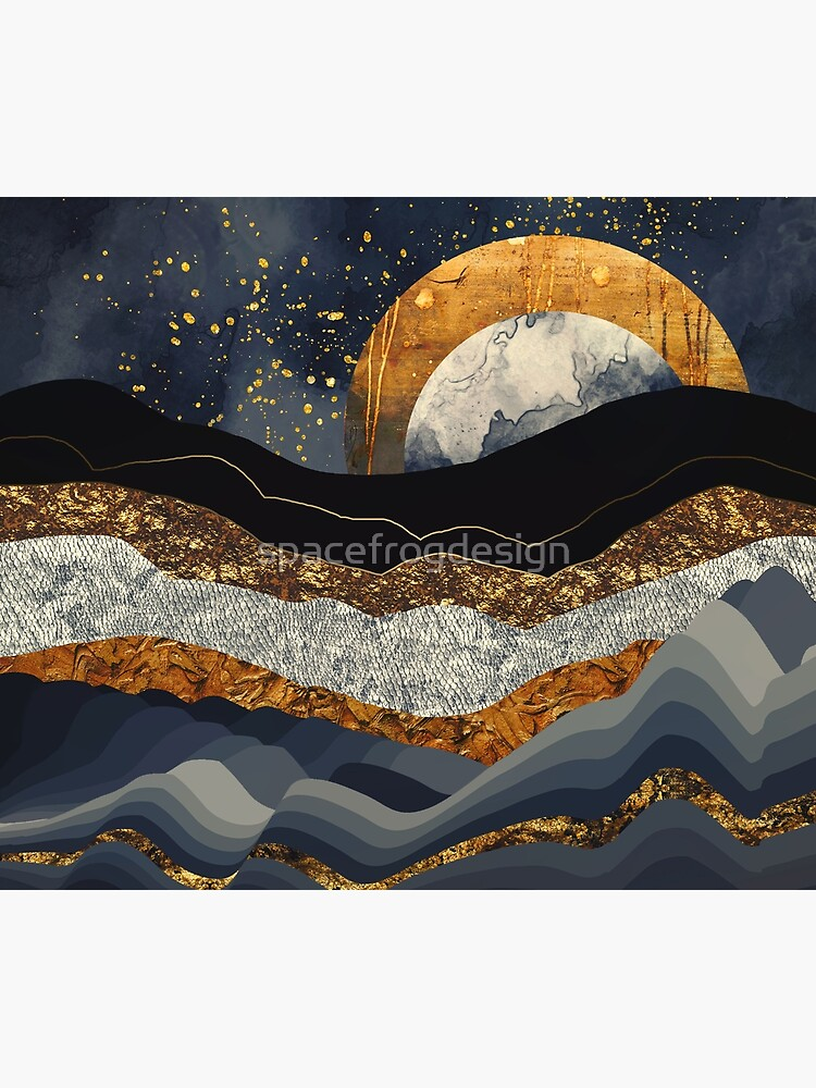 Metallic Mountains by spacefrogdesign