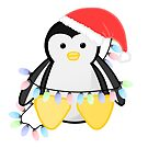 Cute Christmas Penguin by JustTheBeginning-x (Tori)