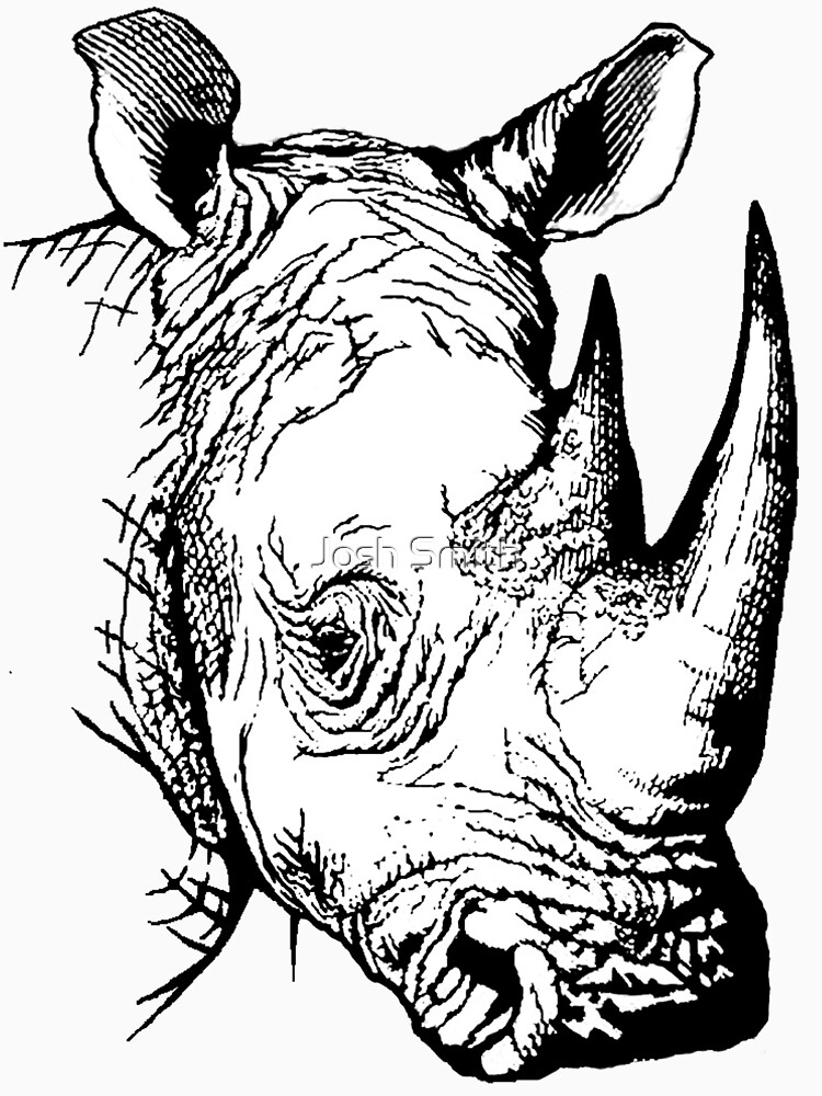 Big Five - Rhino by shadowmachina