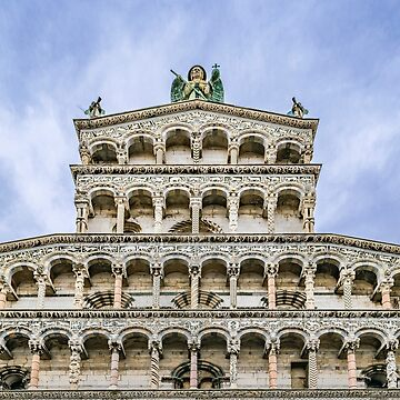 San Martino Cathedral, Lucca, Italy by DFLCreative